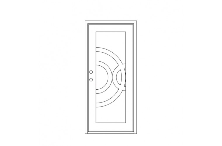 Enduranta Square Top -       Single Door