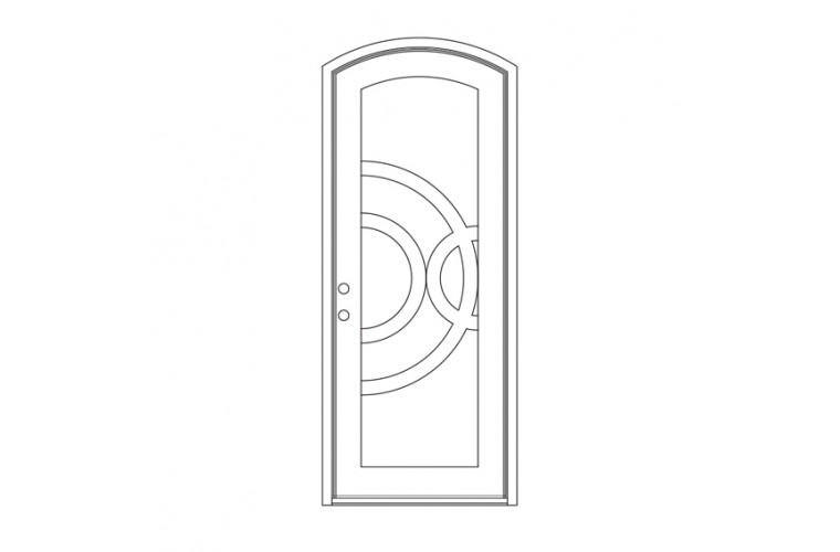 Enduranta Eyebrow Top - Single Door