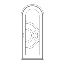 Enduranta Round Top - Single Door