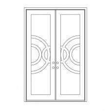 Enduranta Square Top - Double Door