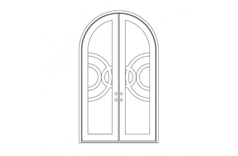 Enduranta Full Round Top - Double Door