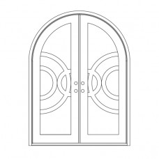 Enduranta Round Top - Double Door