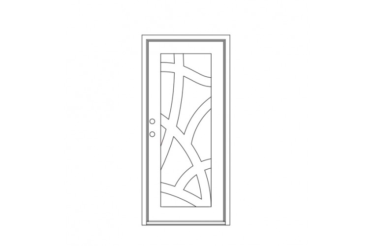 Gaulbi Square Top - Single Door