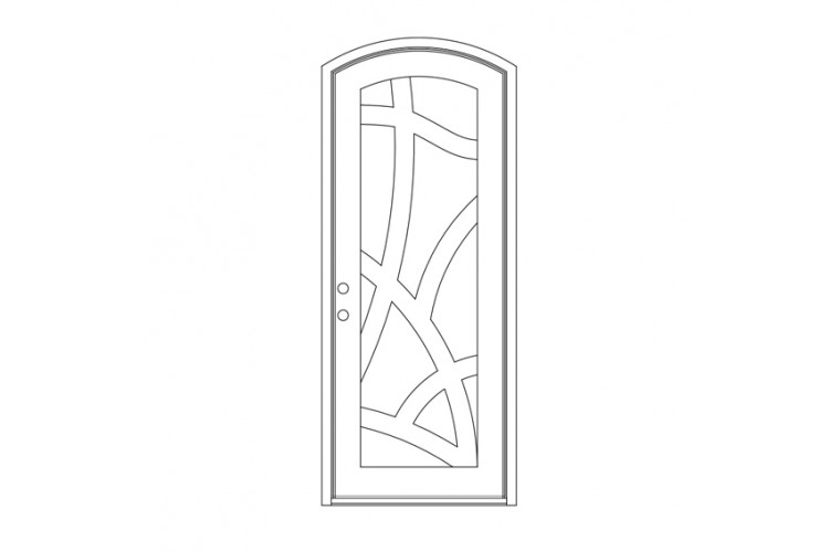 Gaulbi Eyebrow Top - Single Door