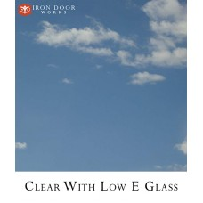 Glass: Clear with Low E