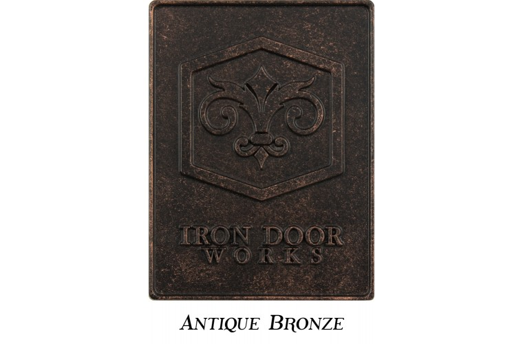 Finish: 5 Antique Bronze
