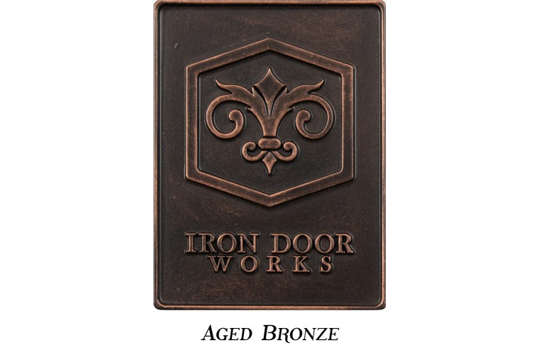 Finish: 8 Aged Bronze