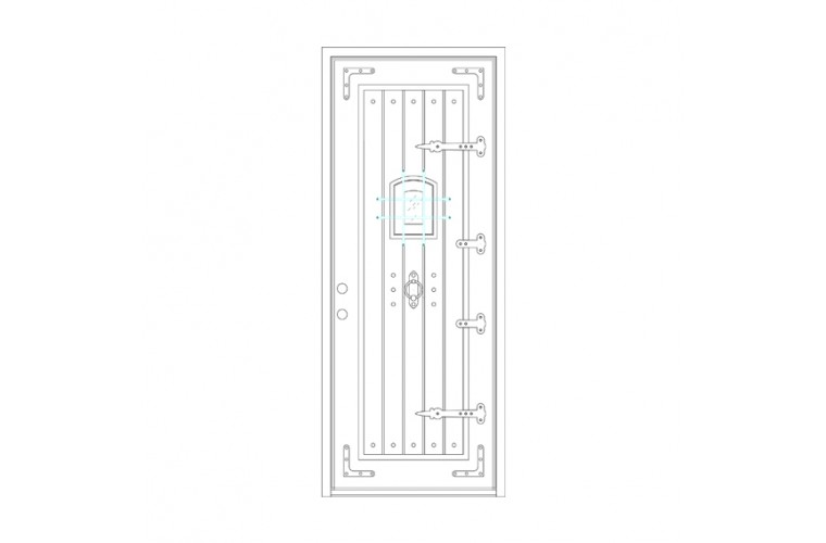 Ricche Square Top - Single Door