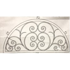 Villa WIndow - Round - 72x36