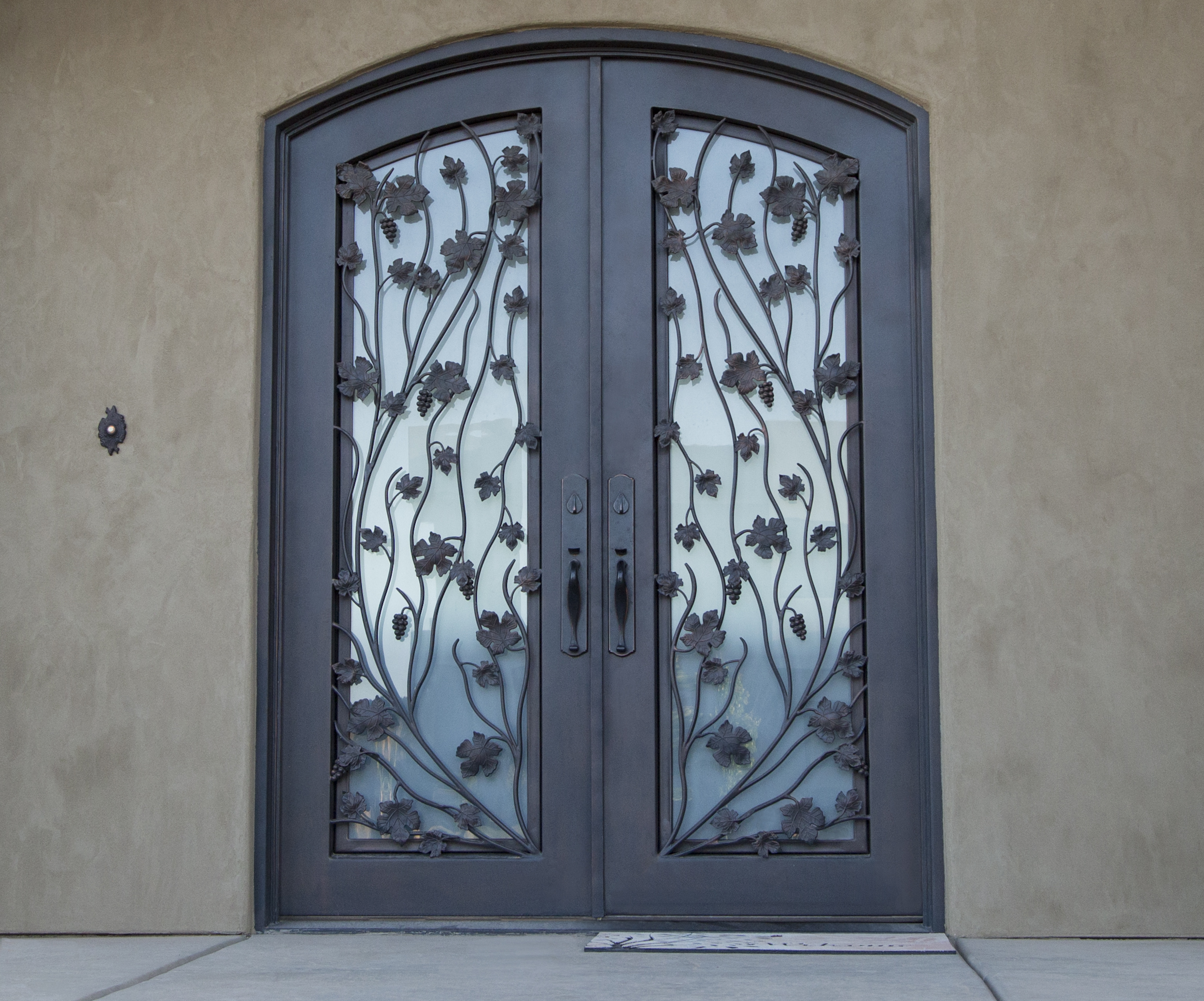 Iron door works for Entrance doors